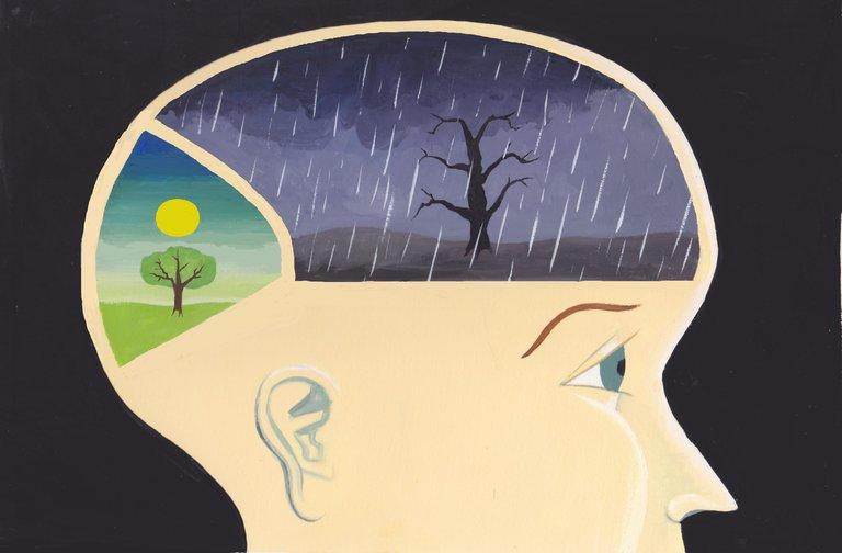 la mente negativa