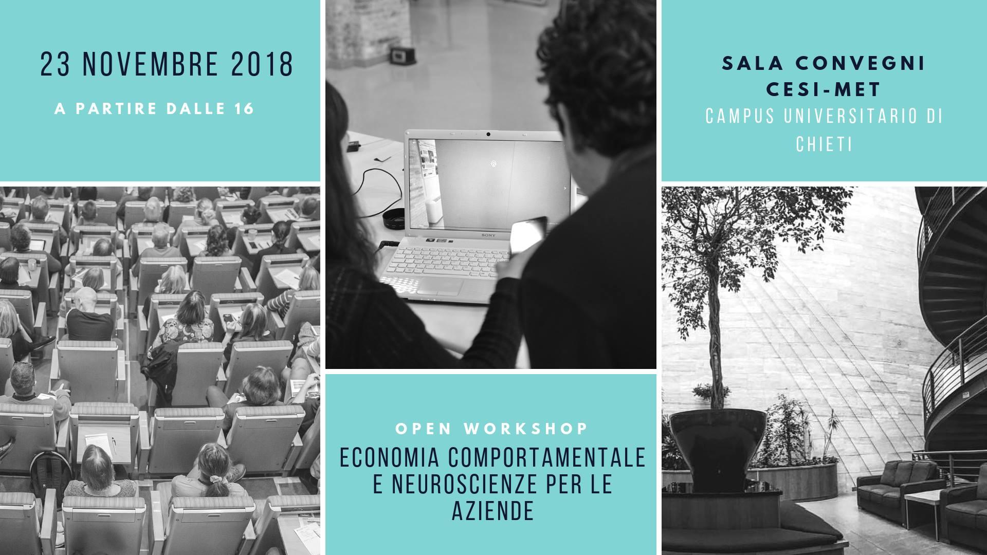 workshop di economia comportamentale e neuroeconomia